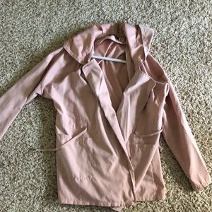 Pink Duster Jacket
